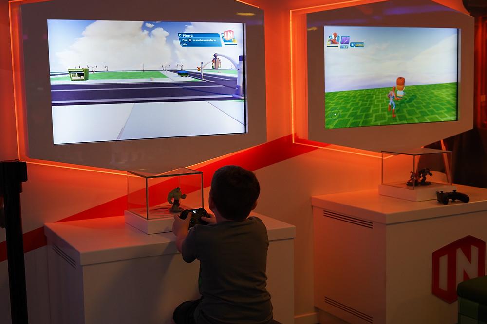 video games at Oceaneers' clubs