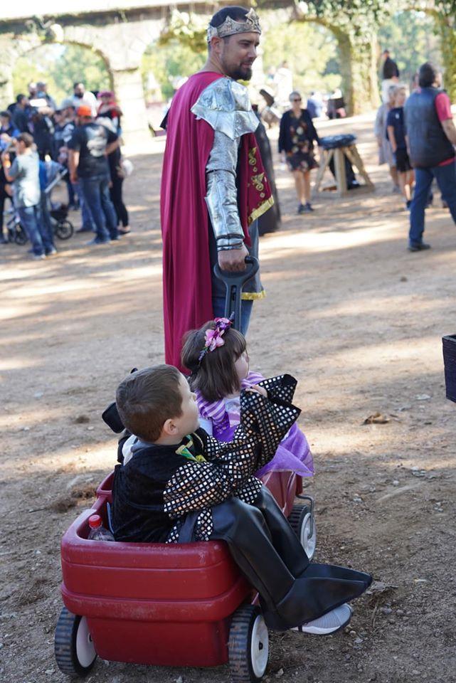 Wagon at Texas Renaissance Festival