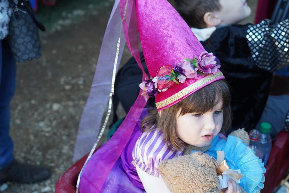 Princess at Texas Renaissance Festival