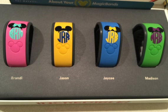 decorated magic bands