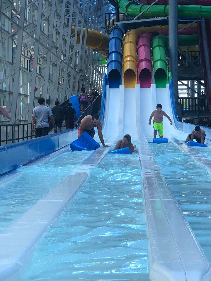 E Racer Slide at Epic Waterpark in Dallas