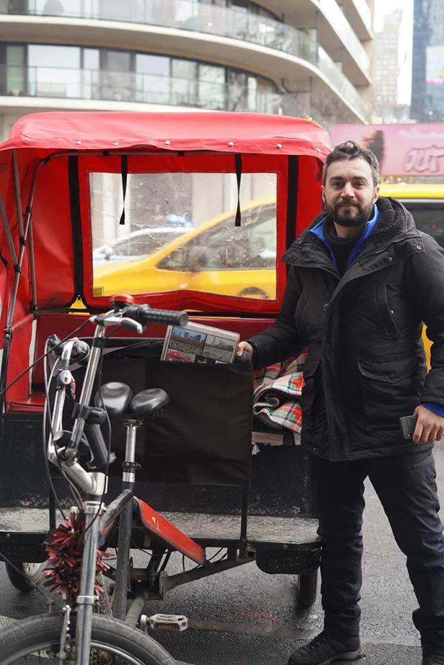 Pedicab Tour through Central Park