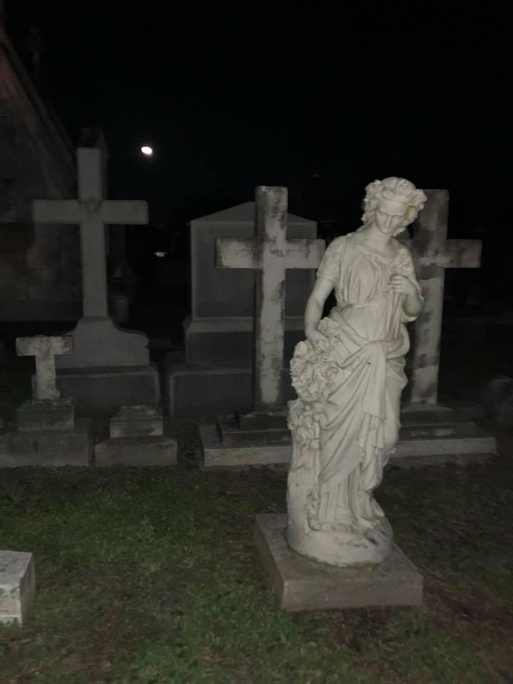 old graveyard in Galveston