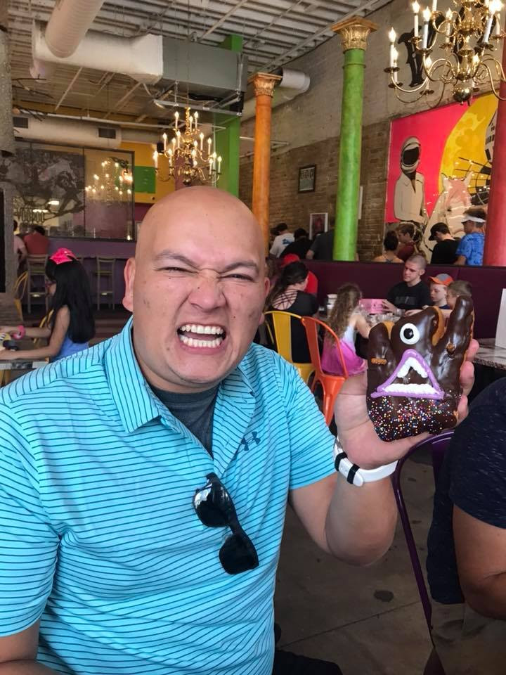 voodoo angry donut in Austin