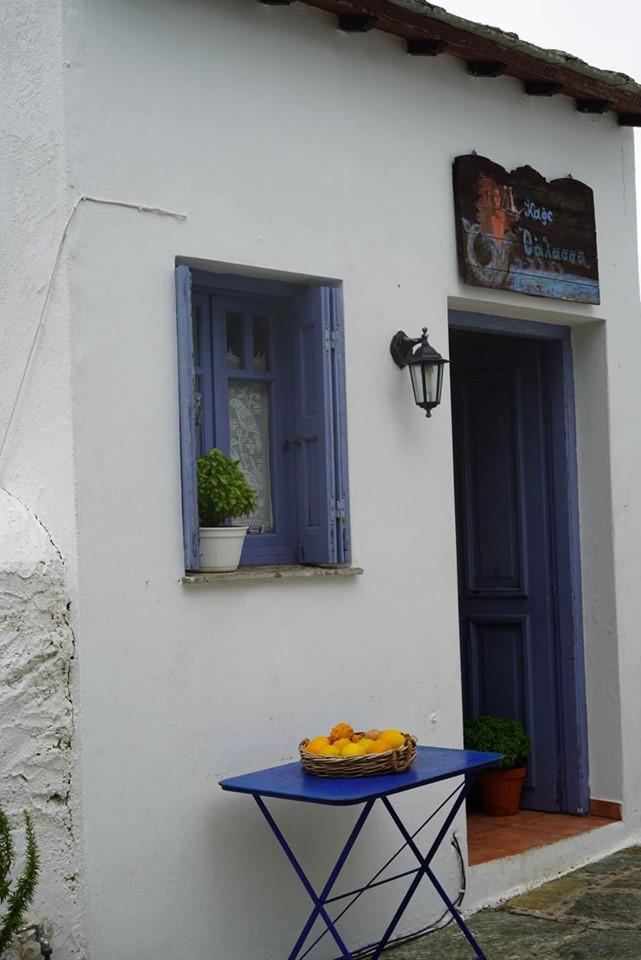 Orange Juice on Skopelos Island