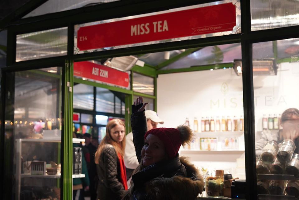 Miss Tea at Bryant Park