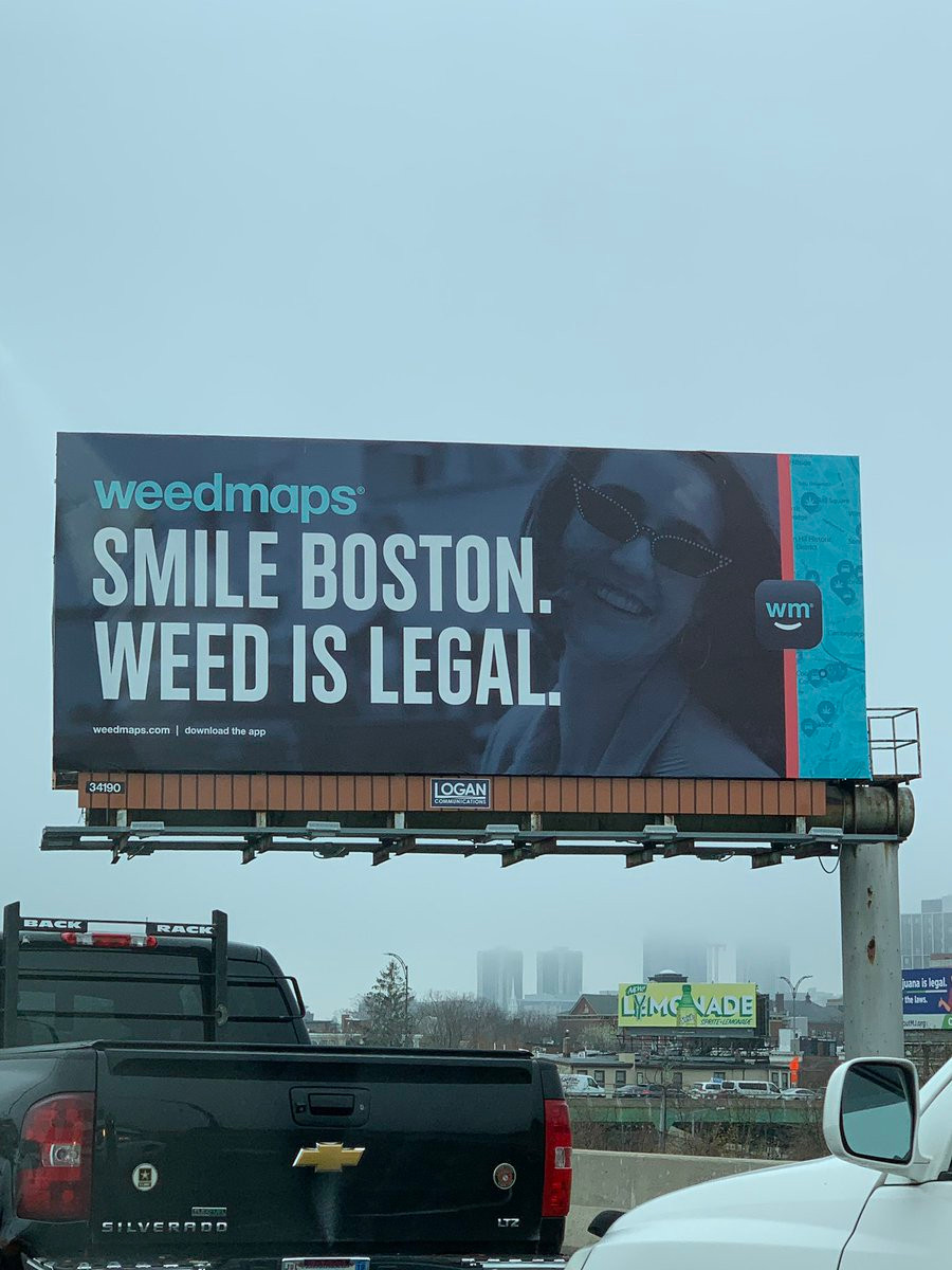 Weed is legal in Boston