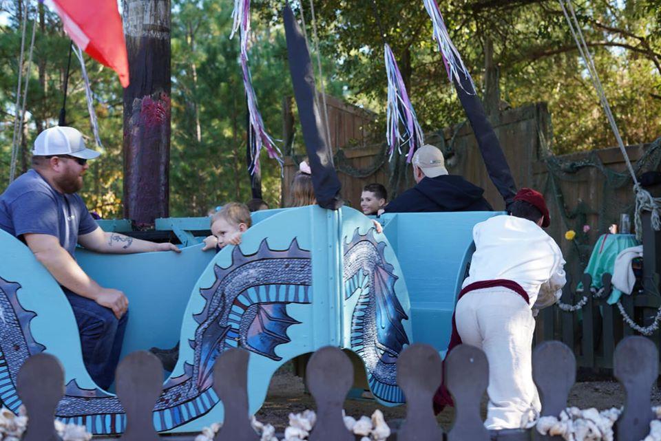 rides at Texas Renaissance Festival