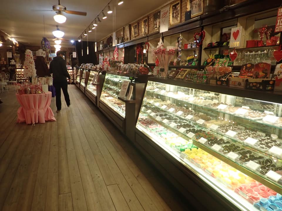 candy at La King's Confectionery