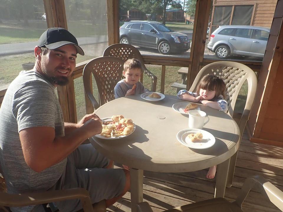 Breakfast at Jellystone Park in Waller, Texas