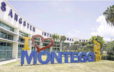 Sangster Intl Airport in Montego Bay