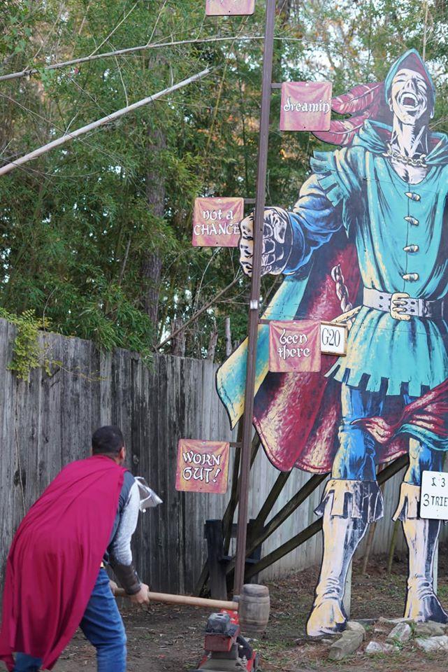 games at Texas Renaissance Festival