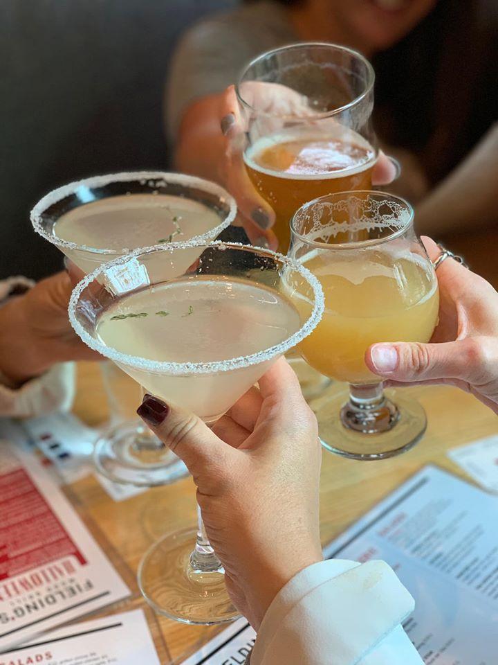 Drinks at Fielding Wood Girll Girls Weekend Getaway