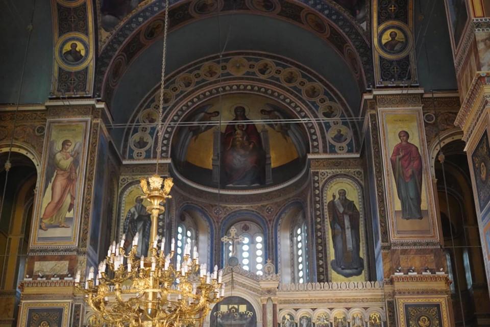 Mitropolis Athens Cathedral