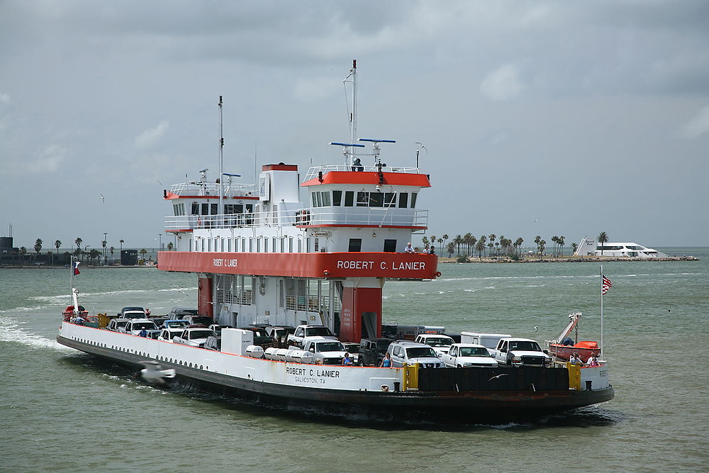 Galveston/Port Bolivar Ferry