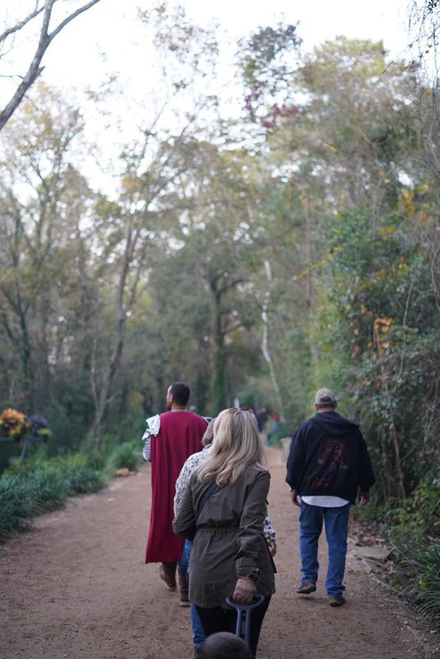 Magical Garden at Texas Renaissance Festival