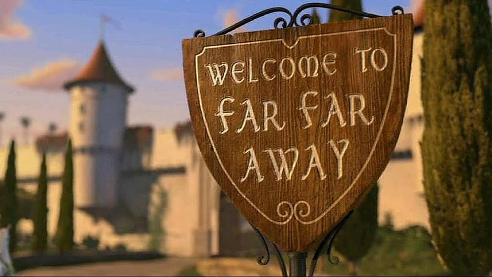 Welcome to Far Far Away, Woodlands, Texas