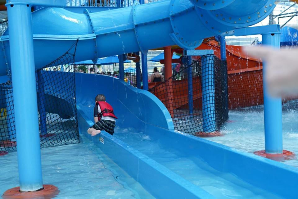Kids Waterslide at Epic Waterpark