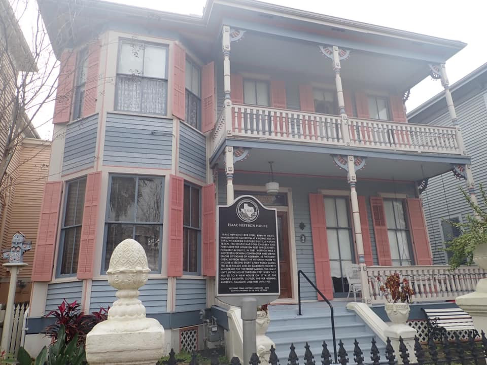 beautiful old houses in Galveston