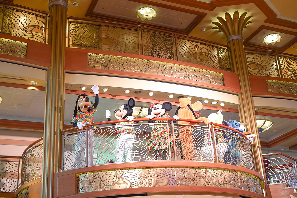 Disney Characters on Disney Cruise