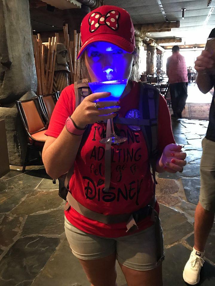 alcoholic beverages at Disney