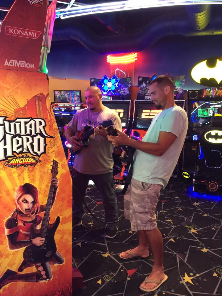 arcades at Kemah Boardwalk