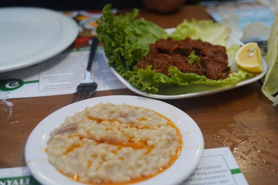 appetizer in Turkey