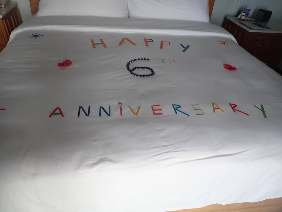 happy anniversary sandals resort