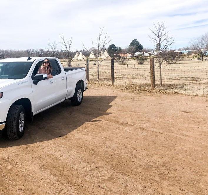 Dollar Rental Truck