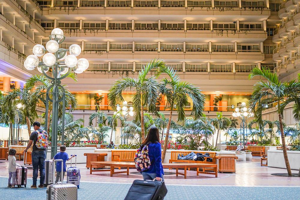 Hyatt Regency Orlando International Airport Hotel.