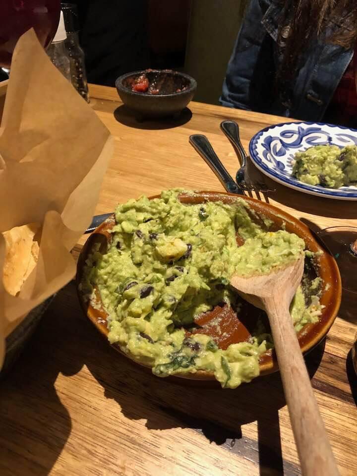 guacamole Escalante's Fine Tex-Mex & Tequila, Woodlands, TX