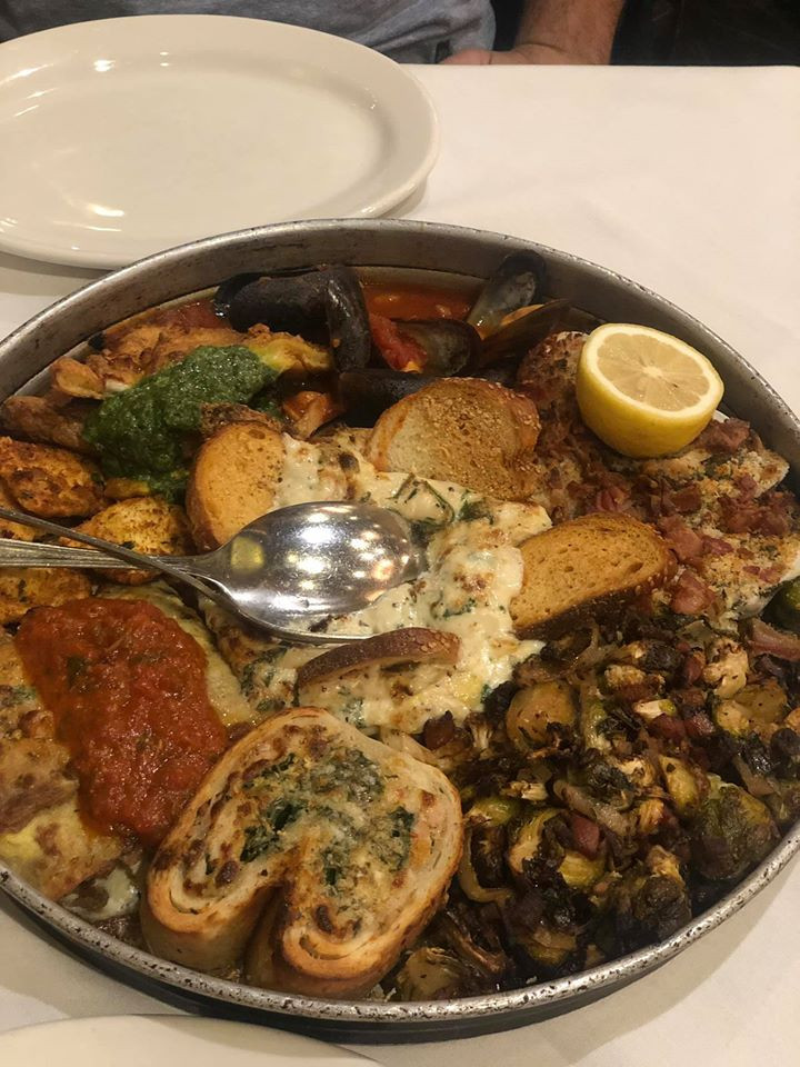 appetizer at Carmine's Italian Restaurant