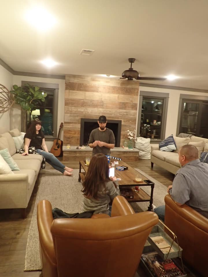 Playing Games at house by Fixer Upper