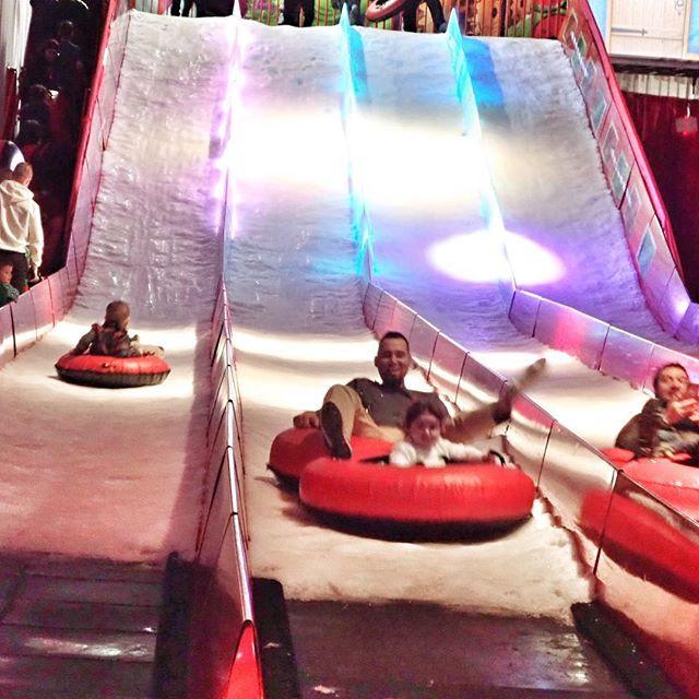 Ice Tubing at Gaylord Hotel