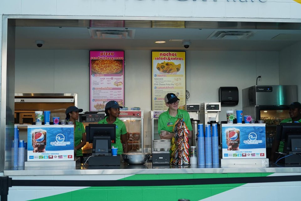 Food Stand at Epic Waterpark