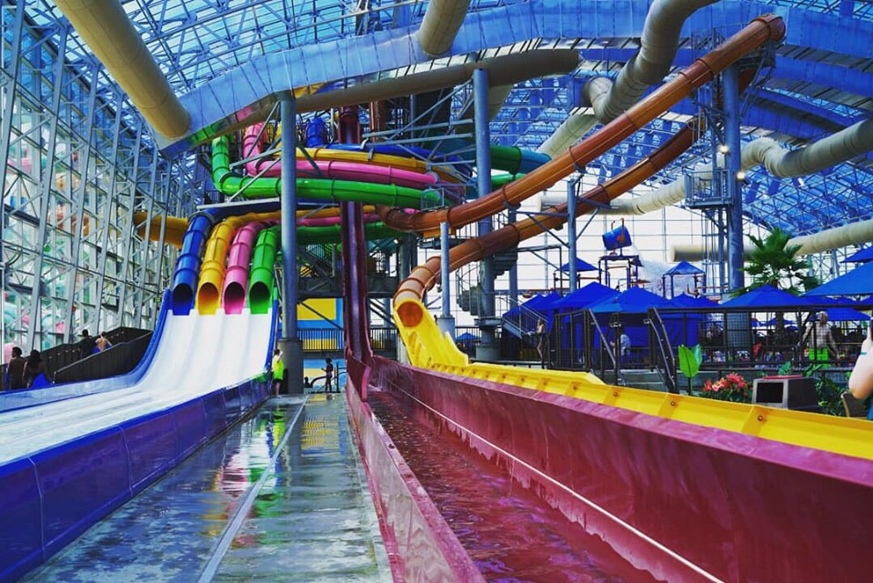 Epic Water Park in Dallas Slides