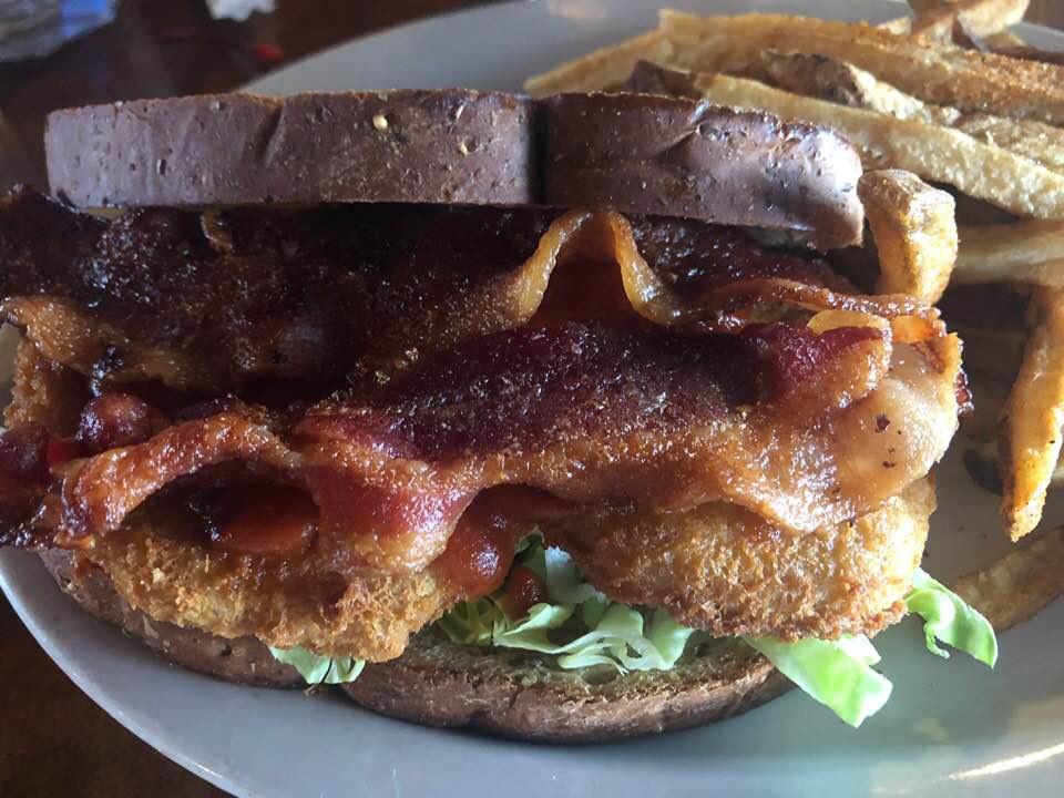 sandwich at Harbor Docks