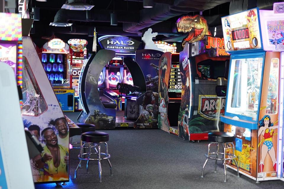 Arcades at Epic Waterpark in Dallas