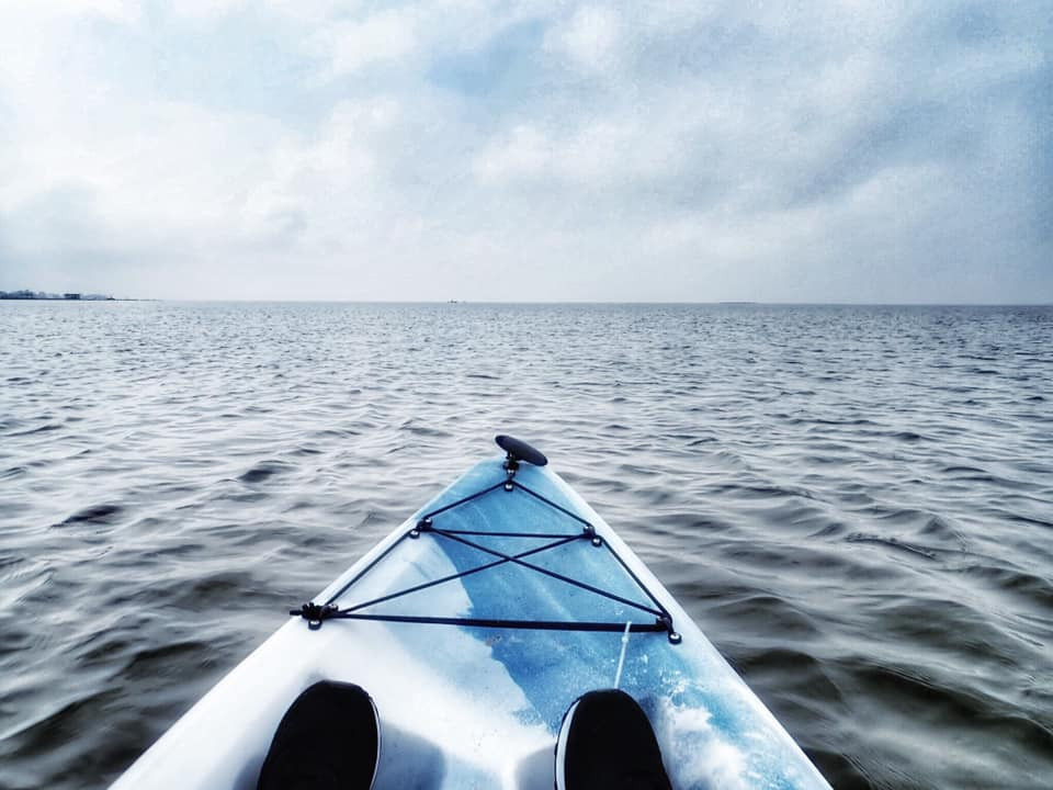 kayaking in Galveston