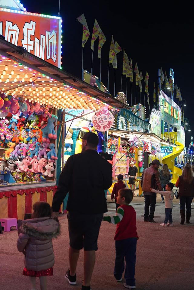 Carnival at Magical Winter Lights in Houston