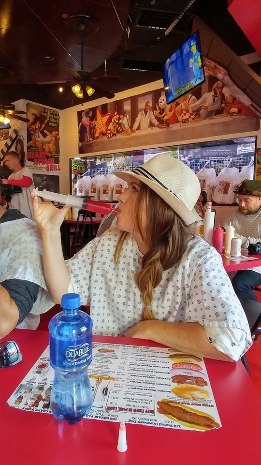 Shots at Heartattack Grill in Las Vegas
