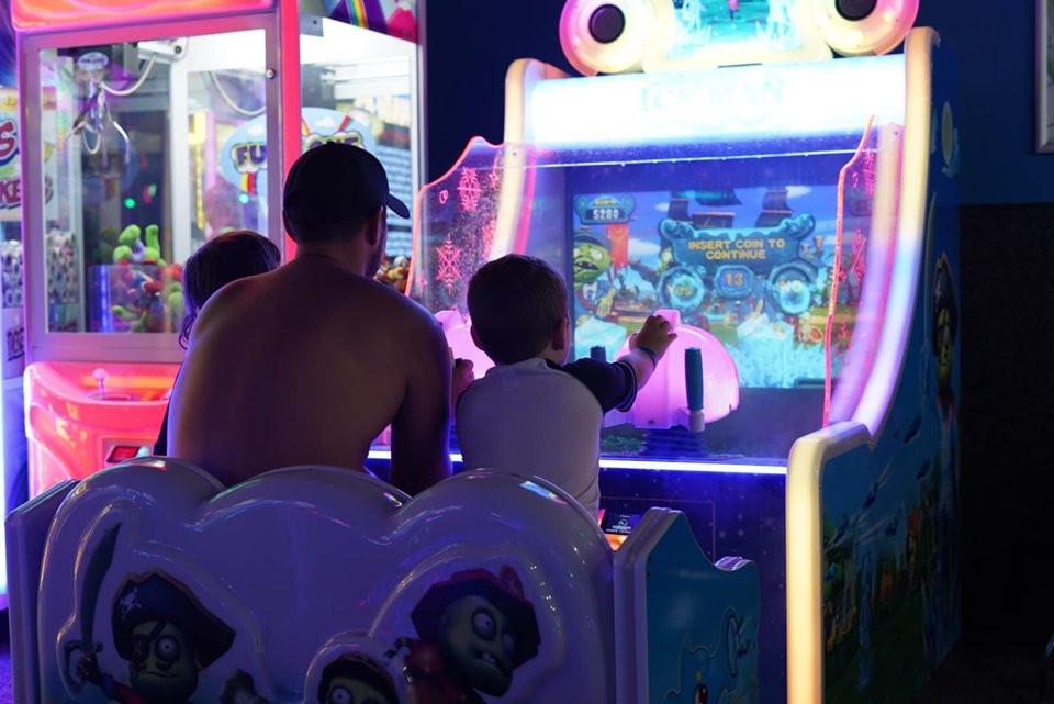 Games at Epic Waterpark