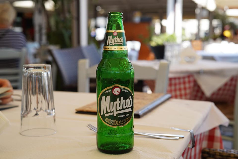 Mythos Beer in Greece