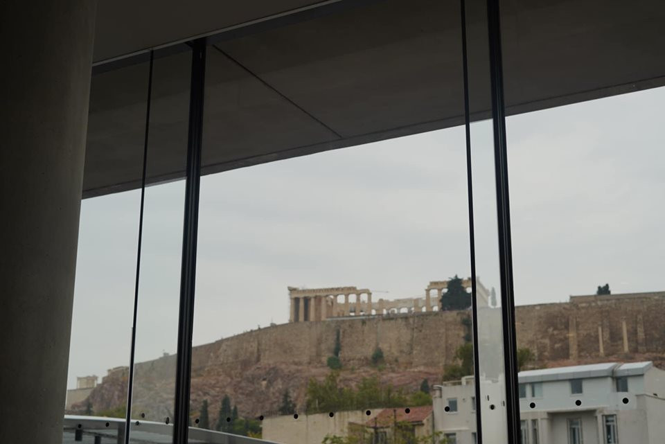 Lunch at Acropolis Museum