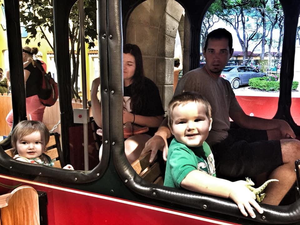 train ride at The DoSeum