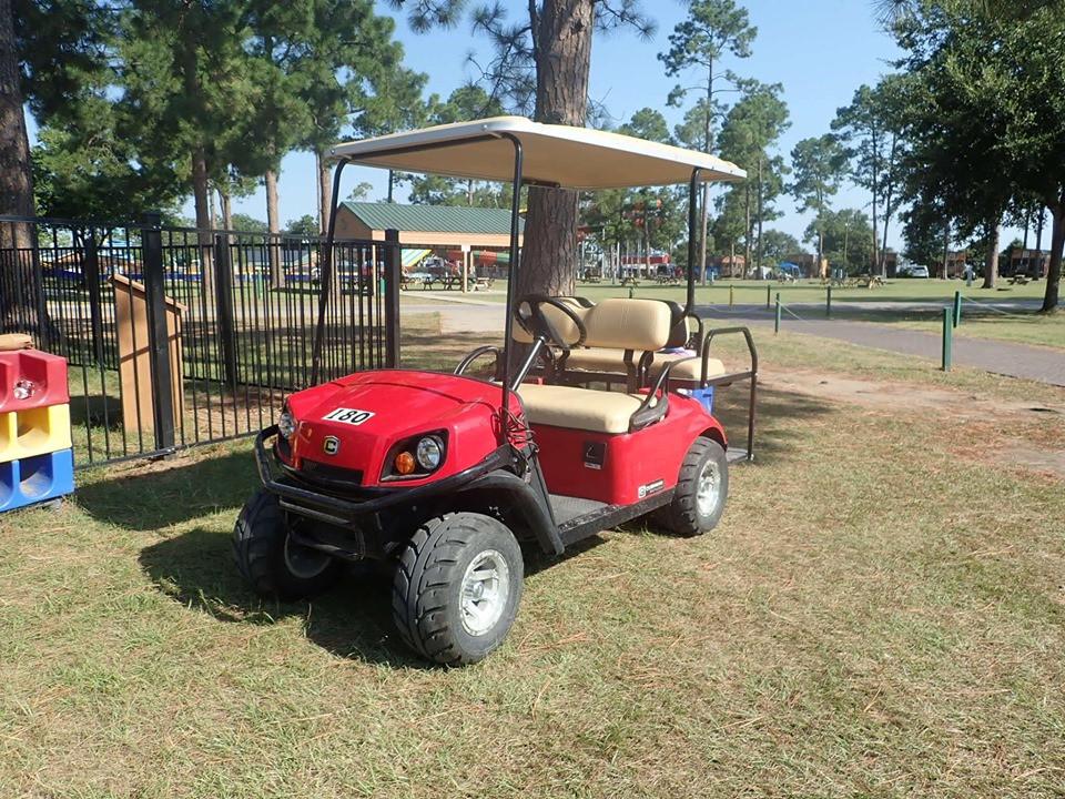 Golf Cart Jellystone Park
