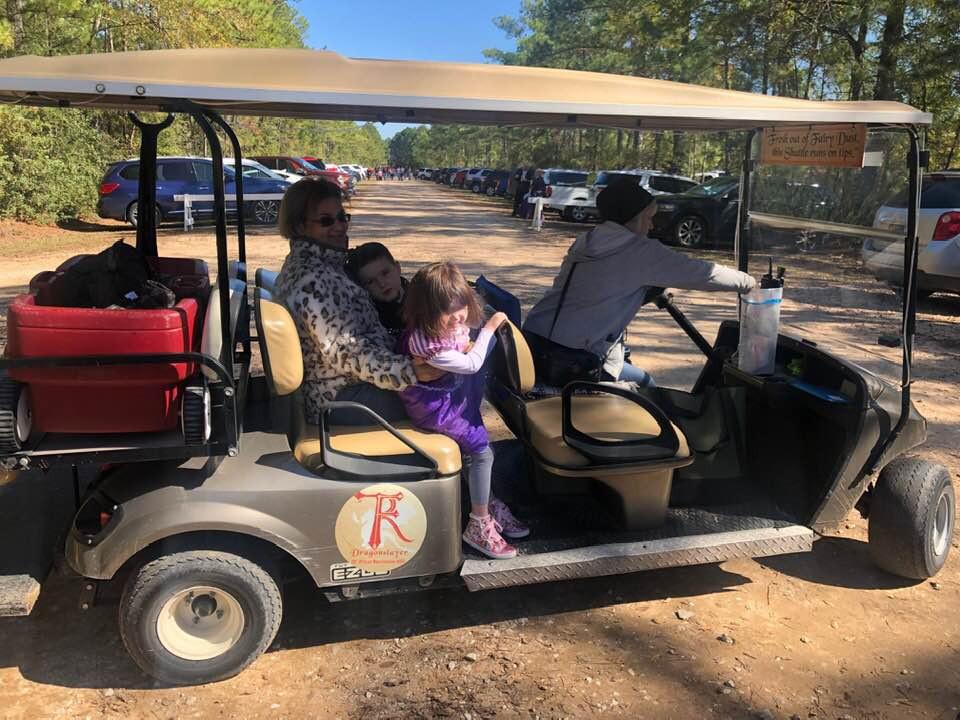 Texas Renaissance Festival Taxi