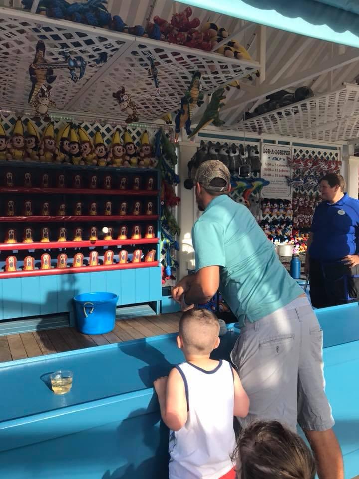 games on Boardwalk in Disney