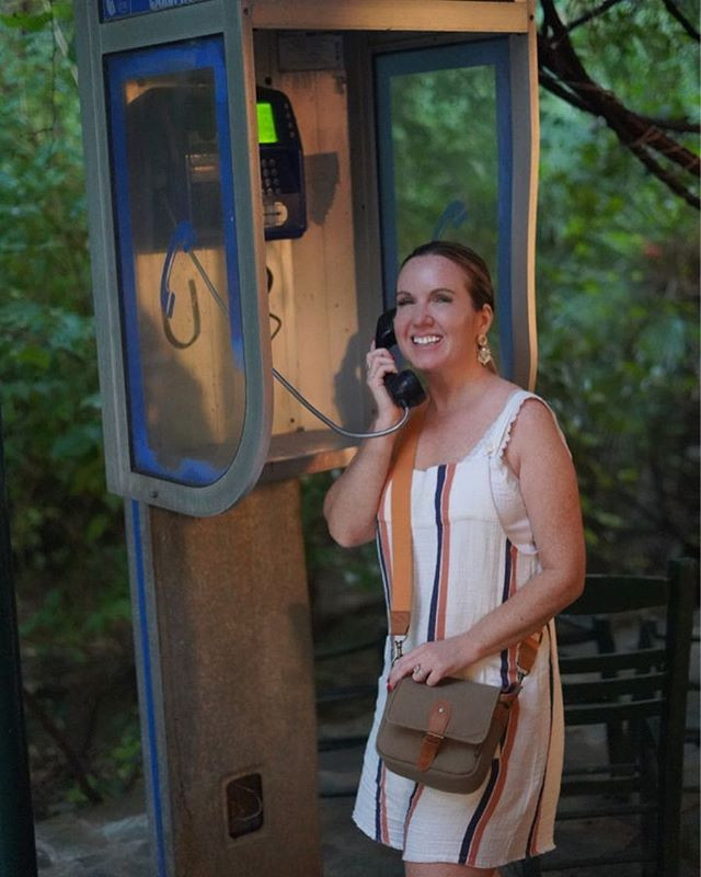 Payphone in Athens