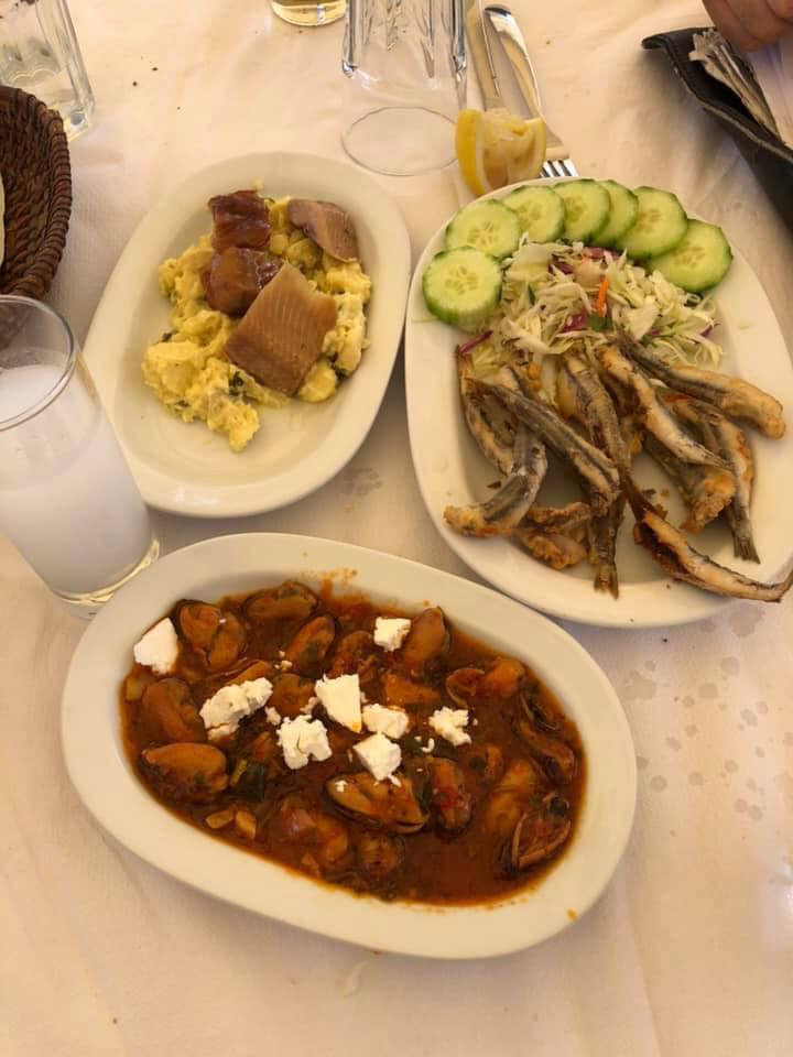 food Skiathos Island in Greece